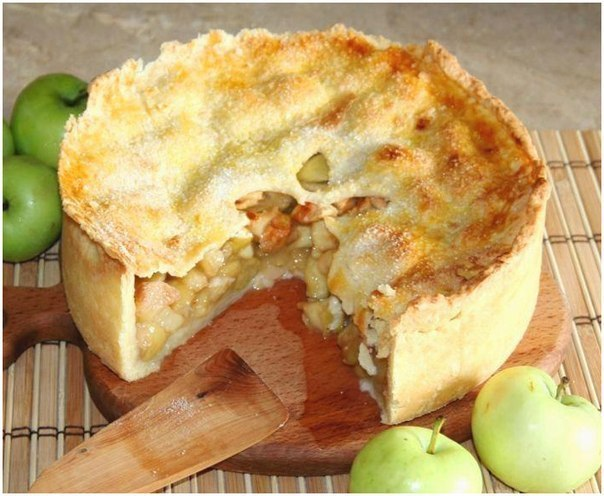 Как приготовить яблочный пай