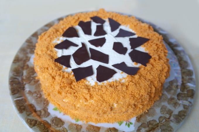 Как приготовить торт «Сахара»