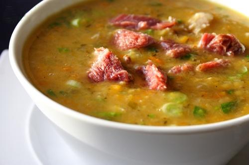 суп гороховый в мультиварці