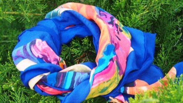 модные платки 2014 года