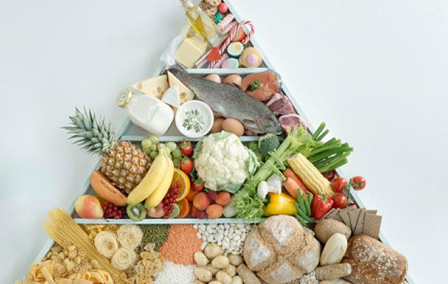 """""""Пищевая пирамида"""" поможет сбалансировать питание и похудеть"""