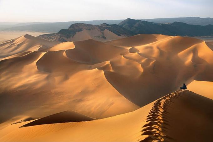 Несколько фактов о пустыне Сахара