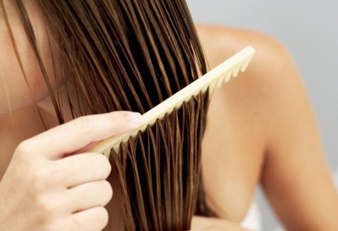 Маска против намагничивания волос