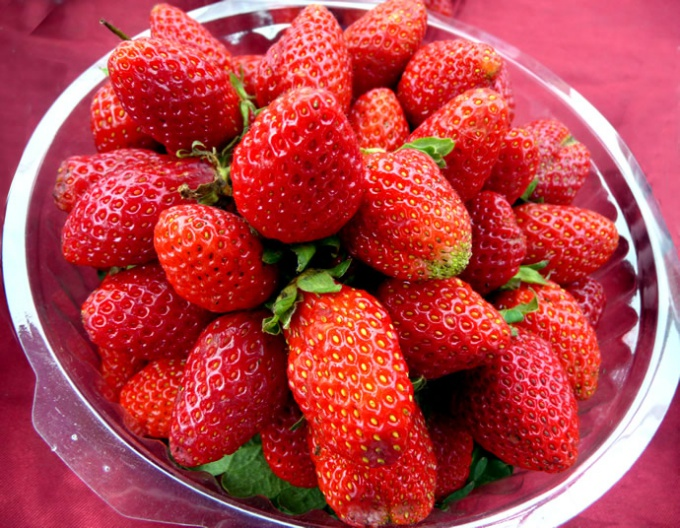 How to get a large crop of strawberries