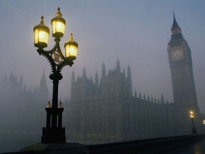"""Почему Англию называют """"туманным Альбионом"""""""