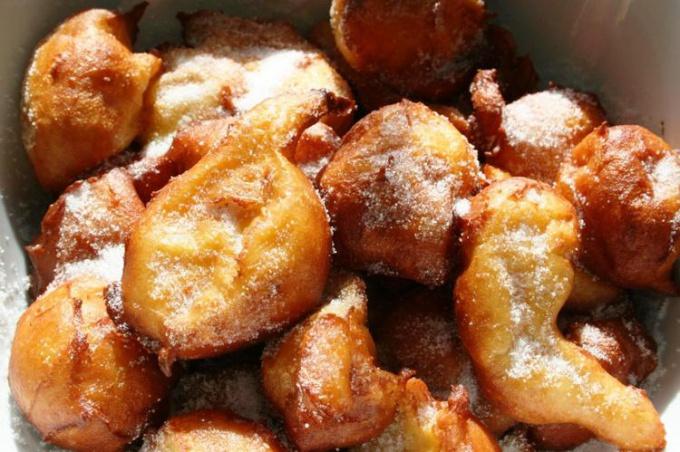 Как приготовить заварные французские оладьи?