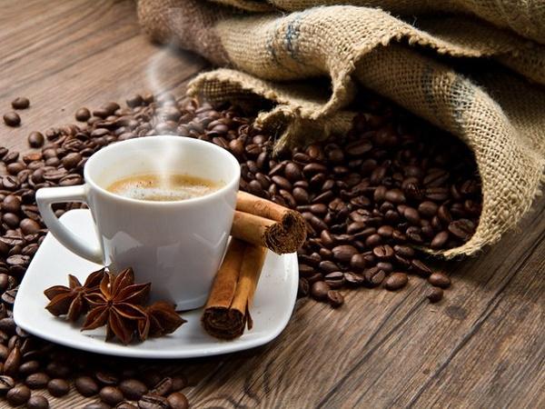 Ароматный напиток кофе