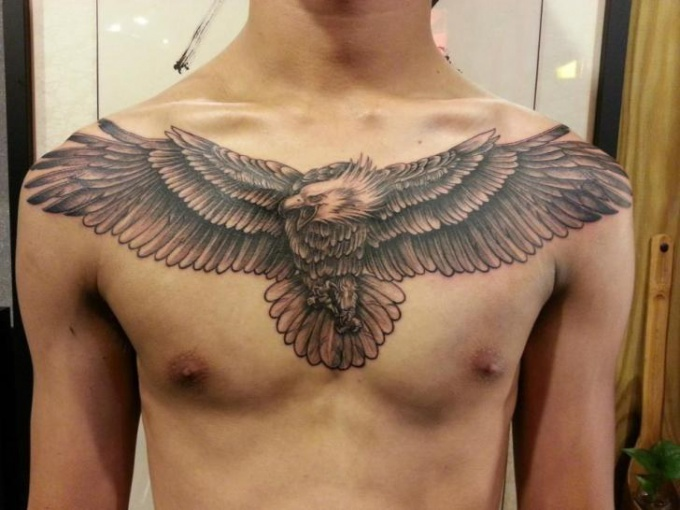 What does the tattoo of an eagle