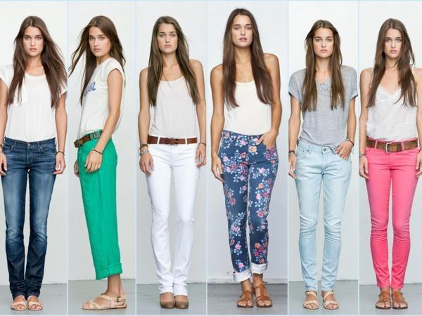 Какие джинсы стоит носить летом 2014