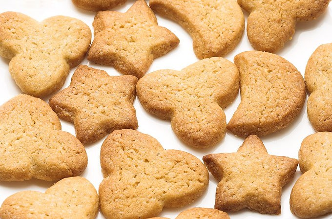 Simple baking recipes shortbread