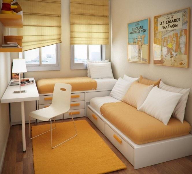 Как сделать дизайн интерьера для маленькой комнаты