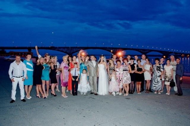 Свадьба - обретение новых родственных связей