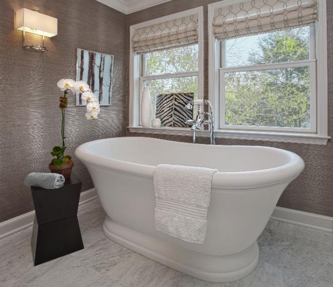 Как утеплить стены в ванной комнате