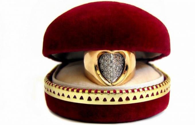 Как предпочесть кольцо в презент женщине