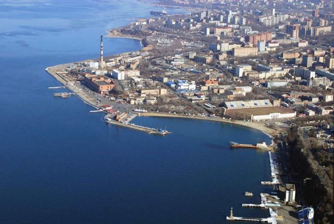 Владивосток (съемка с вертолета)