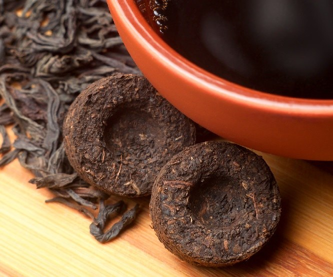 Puer tea is a drug?