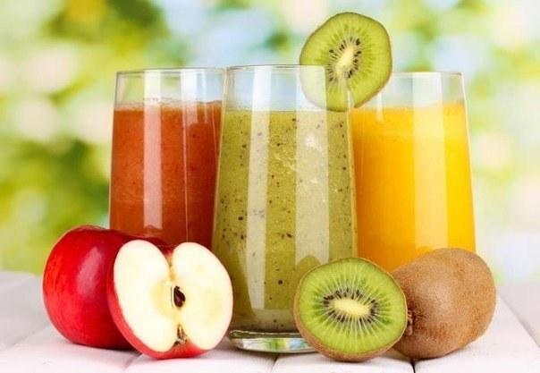 Жиросжигающие напитки из фруктов