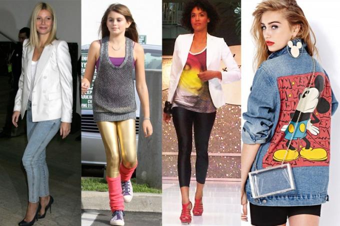 Как одеться в стиле 80-х годов