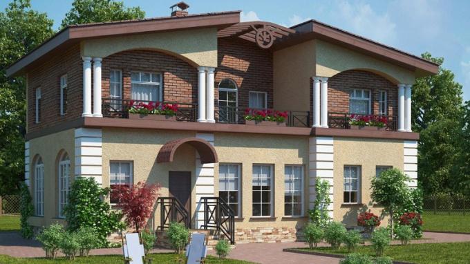 Как спроектировать дом на две семьи