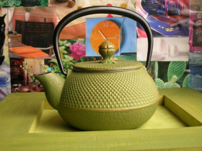 Как отмыть заварочный чайник
