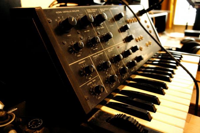 Проверьте механику синтезатора