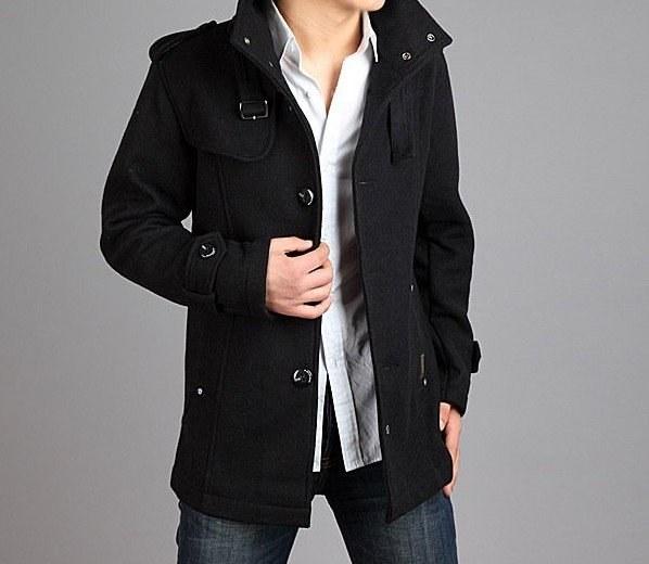 Как выбрать стильное молодежное мужское пальто