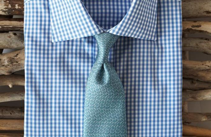 Как подобрать галстук к рубашке