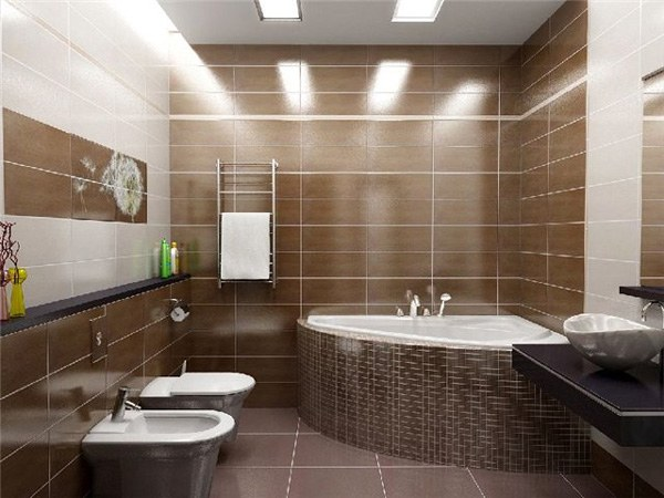 Как установить светильники в ванной