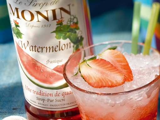 Syrups Monin: the diversity of tastes and applications