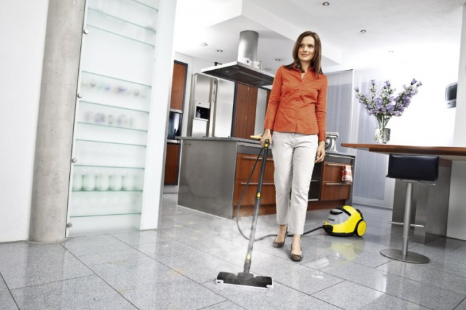 How to use a steam cleaner