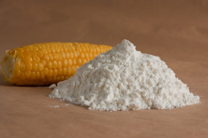 How to use corn starch