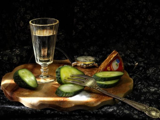 Культура питья водки на Руси