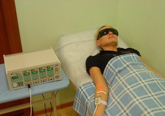 Как переносится пациентами внутривенное лазерное облучение крови