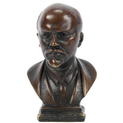 Антиквариат - бронзовый бюст Ленину