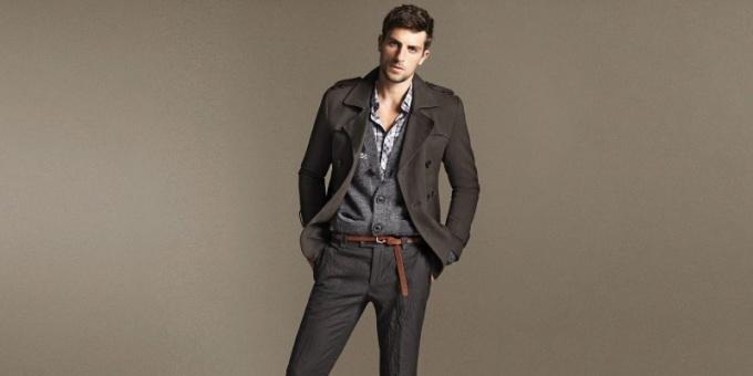 Как выбрать фасон мужского пальто