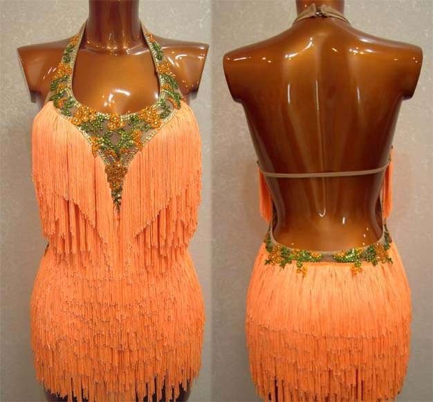 Платье для латиноамериканскиз танцев