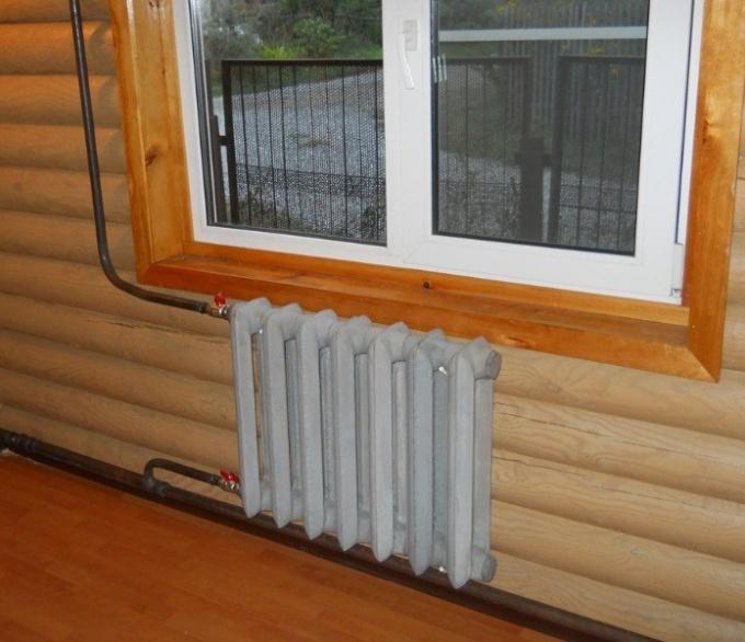Отопление одноэтажного дома