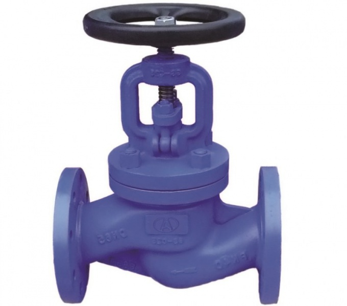 Запорная арматура монтируется после установки трубопровода