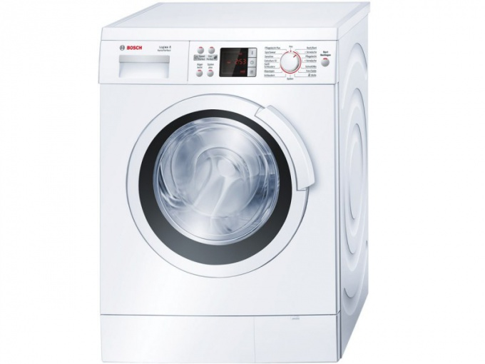 Fault diagnosis of washing machines Bosch