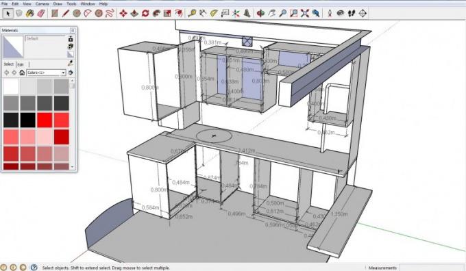 Программа для размеров мебели