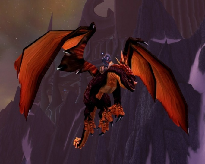 Ездовой дракон в WoW