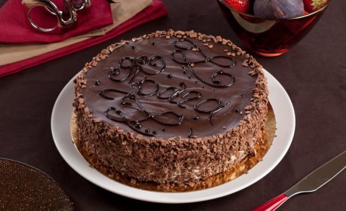 Торт прага в домашних