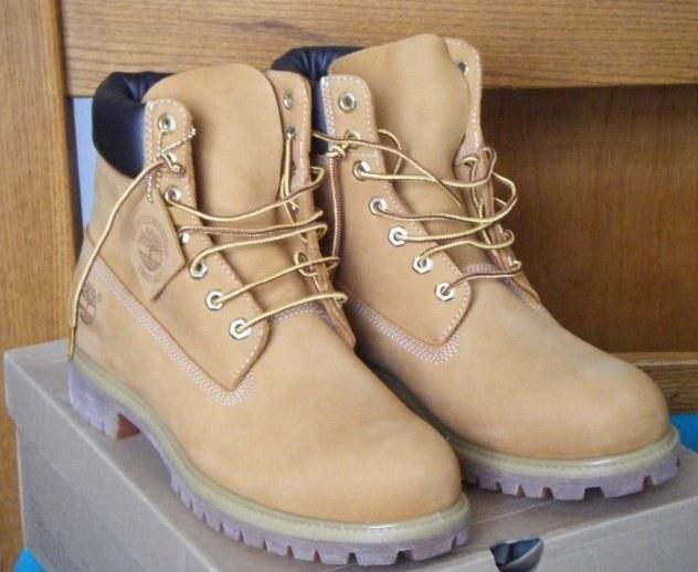 Культовые ботинки Timberland