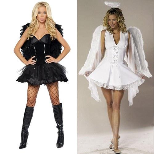 Как сделать костюм ангела на Хэллоуин