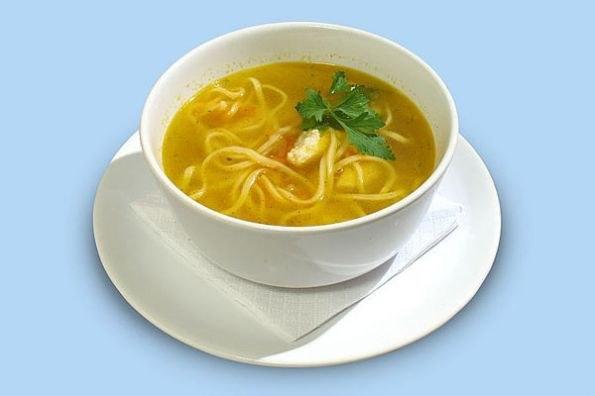 Суп с лапшой - популярное блюдо русской кухни