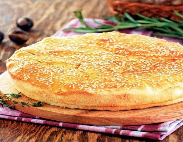 Пататопита (пирог с картофелем и рисом)