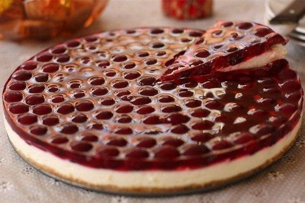 Как приготовить вишневый торт без выпечки