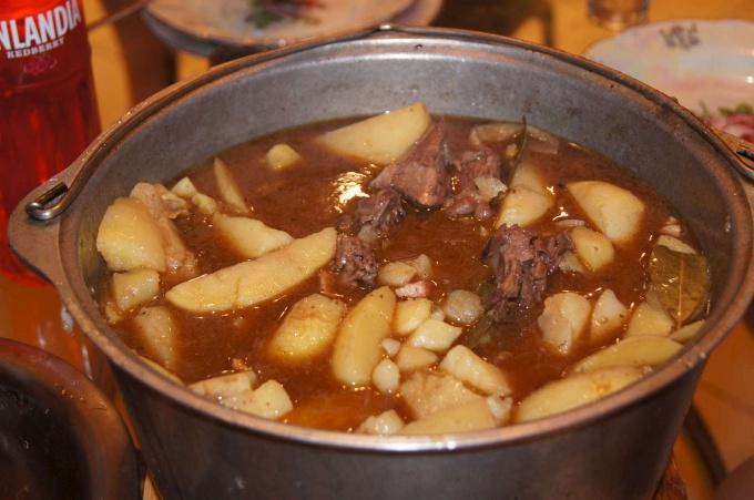 Суп из бекаса и белых грибов