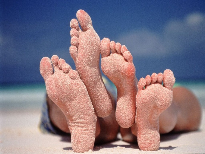 Влияние состояния организма на структуру кожи стоп