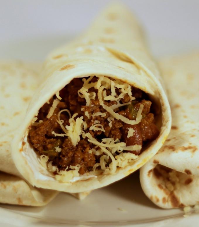 Мексиканский бурритос